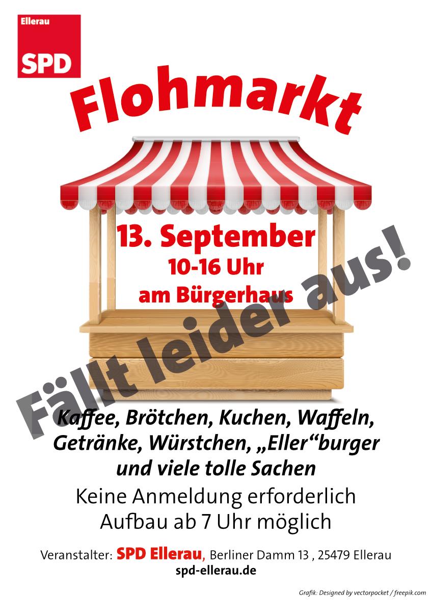 SPD-Flohmarkt – abgesagt